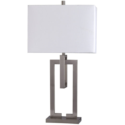 Artworks in the Garden Table Lamp White