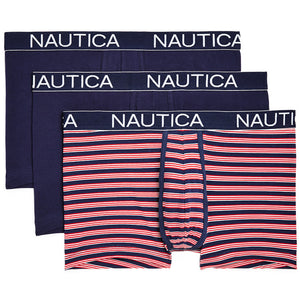 Nautica Men's 3pk Trunks