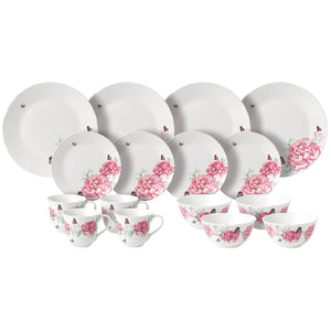 Royal Albert Miranda Kerr Everyday Friendship Dinner Set, Porcelain, 16pc, 3505216