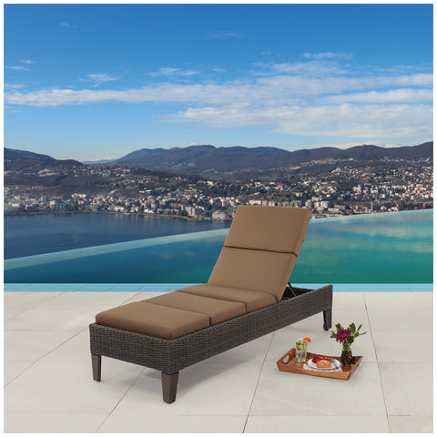 Image of Agio Eldorado Woven Chaise Lounge