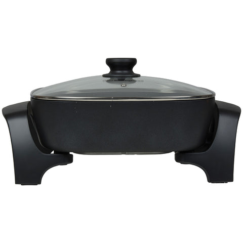 Image of Westinghouse Square Electric Frypan, 30.5cm, WHEF02K