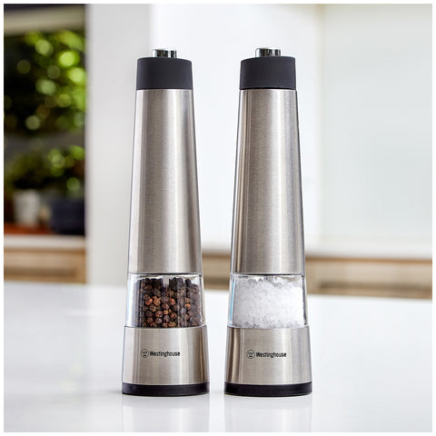 Westinghouse Electric Salt & Pepper Mills WHSPMSET02