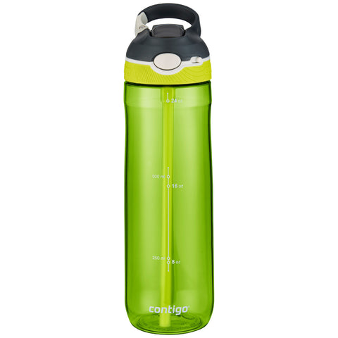 Image of Contigo Autospout Straw Ashland Water Bottle, 709ml, 3pk