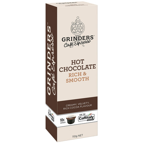 Grinders Caffitaly Hot Chocolate Capsules, 80pk (8 x 80g)