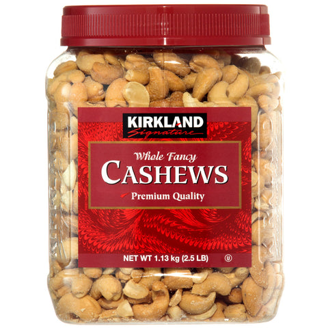 Image of Kirkland Signature Whole Fancy Cashews 1.13Kg x 2