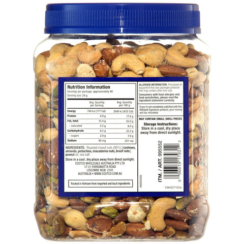 Kirkland Signature Extra Fancy Mixed Nuts 1.13Kg