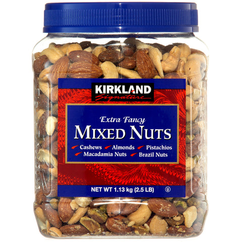 Kirkland Signature Extra Fancy Mixed Nuts 1.13Kg x 2