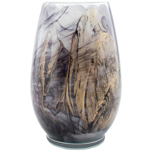 Northern Lights Wax Painted Fragranced Artisan Candle