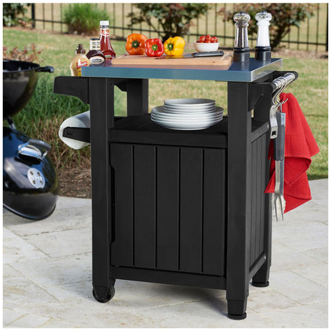 Image of Keter Unity Barbecue Table, W 70 x D 54 x H 90 cm, 17202663