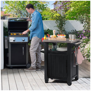 Keter Unity Barbecue Table, W 70 x D 54 x H 90 cm, 17202663