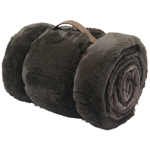 Image of Mon Chateau Faux Fur Throw