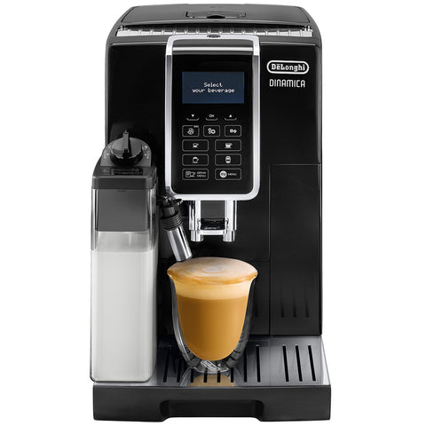 Delonghi Dinamica Fully Automatic Coffee Machine, Black, ECAM35055B