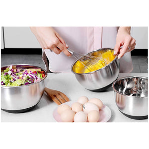 MIU Stainless Steel Mixing Bowls 3pc