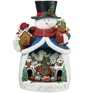 Snowman Village Christmas Decoration