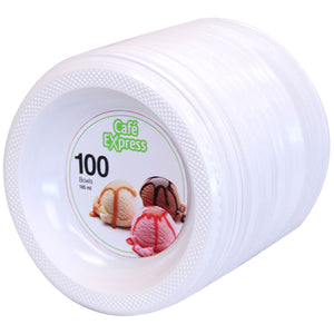 Cafe Express Plastic Bowl 100 CT