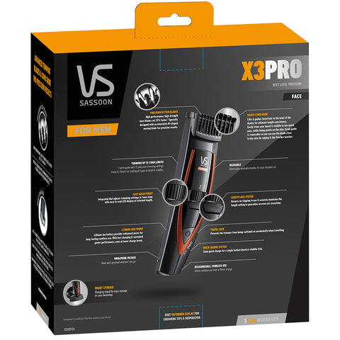 Image of VS For Men X3 PRO Beard & Stubble Trimmer
