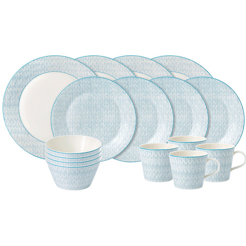 Royal Doulton Pastels Dinner Set 16pc