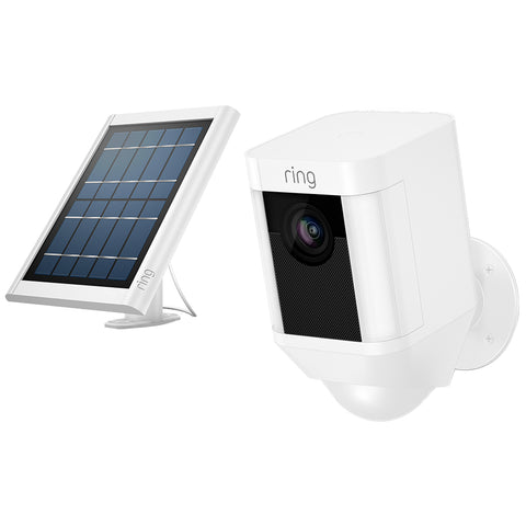 Image of Ring Spotlight Security Camera with Solar Panel 8SB3Y7-WAUC