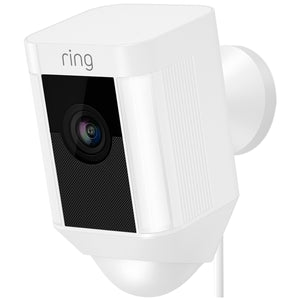 Ring Spotlight Security Camera with Solar Panel 8SB3Y7-WAUC