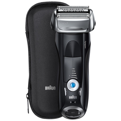 Image of Braun Series 7 Wet & Dry Electric Shaver Set, plus Travel Case, 7840S