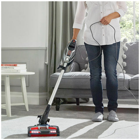 Image of Shark Corded Stick Vacuum with DuoClean Technology HV382