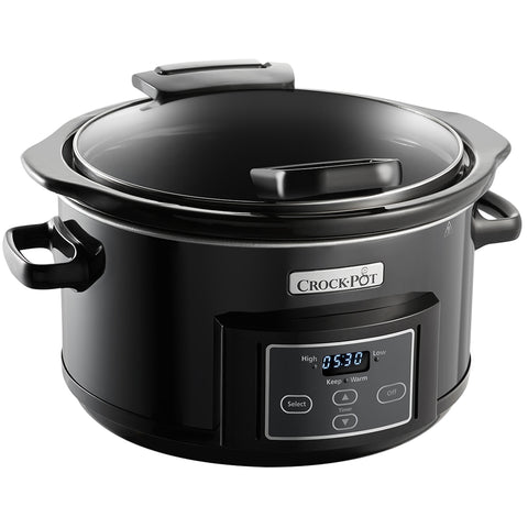 Image of Crock-Pot Digital Hinged Lid One Pot Cooker 4.7L
