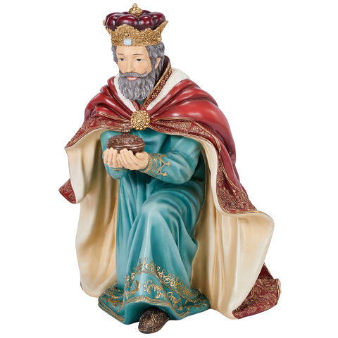 Image of Ornate Outdoor Nativity Set 9pc
