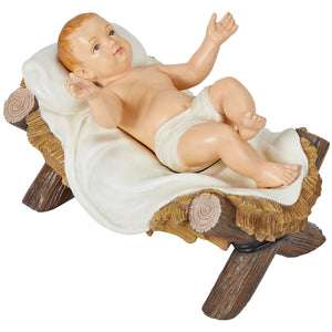 Ornate Outdoor Nativity Set 9pc