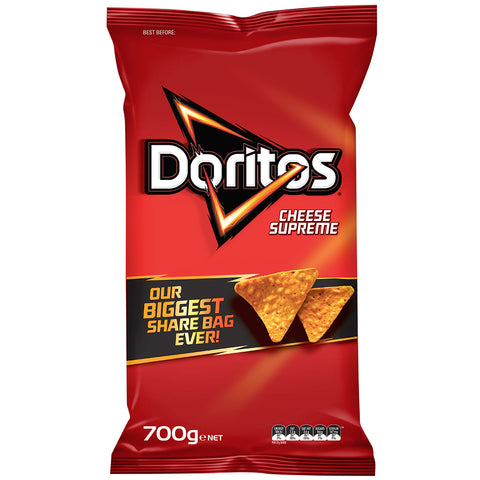 Image of Doritos Cheese Supreme 700g x 2