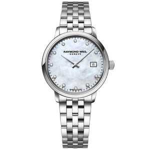 Raymond Weil Women's Toccata Mother of Pearl Watch