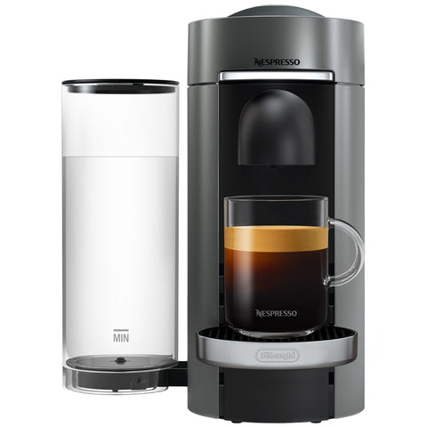 Image of DeLonghi Nespresso VertuoPlus Coffee Machine, ENV150BM, ENV155T