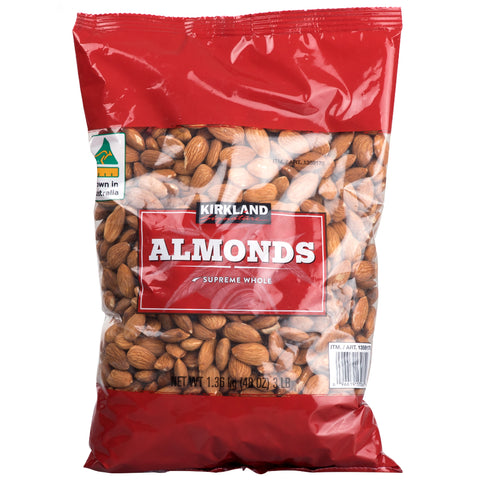 Image of Kirkland Signature Australian Whole Almonds 1.36Kg