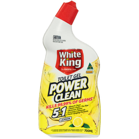 White King Toilet Gel 6 x 700mL