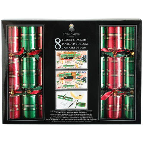 Tom Smith Christmas Crackers 8pk