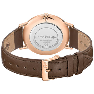 Lacoste Moon Brown Leather Mens Watch 2011018