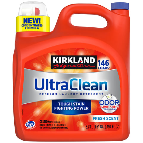 Kirkland Signature Ultra Laundry Liquid 5.73L