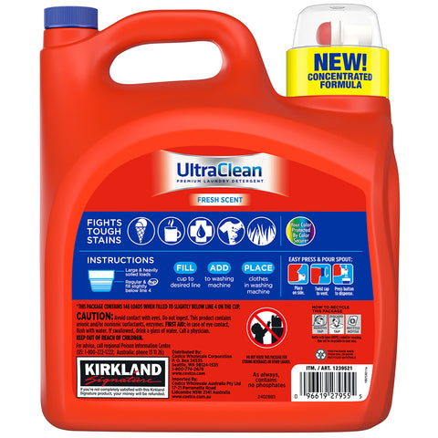 Image of Kirkland Signature Ultra Laundry Liquid 5.73L