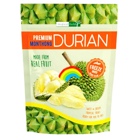 Tropical Fields Freeze Dry Durian 100g