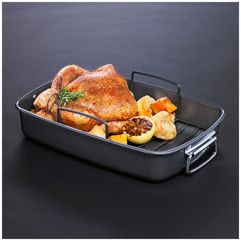 Image of MasterPro Non-Stick Roaster with Rack