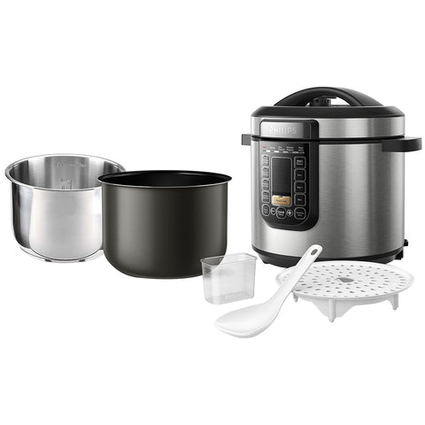 Philips All In One Cooker + Stainless Steel Bowl, HD2237/72