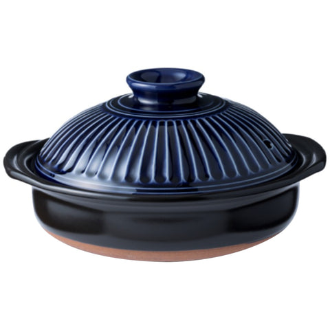 Image of Ginpo Kikka Donabe Japanese Clay Pot 1.9L