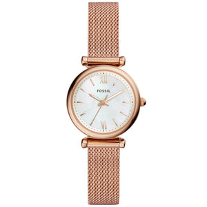 Fossil Women's Carlie Rose Analogue Watch ES4433