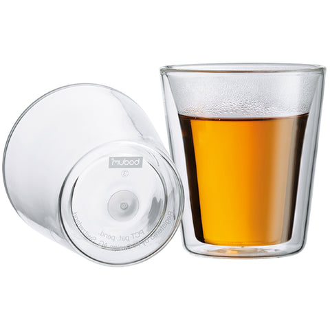 Image of Bodum Canteen Double Wall Glass Set 6 x 200ml