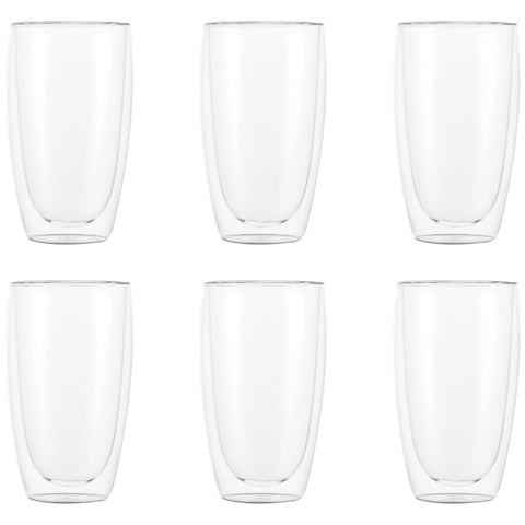 Bodum Pavina Double Wall Glasses 6 x 450ml
