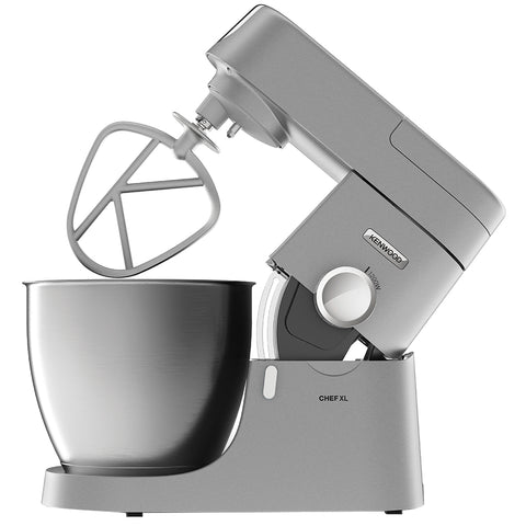 Kenwood Chef XL Stand Mixer, 6.7L, Silver, KVL4100S