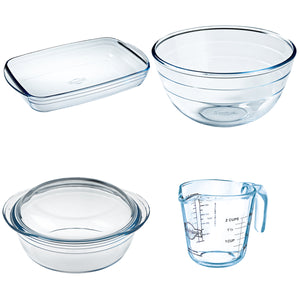 O'Cuisine Glassware Set 4pc