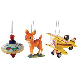 Royal Doulton Nostalgia Christmas Ornaments 3pk