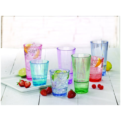 Tritan Coloured Drinkware Set 12pc