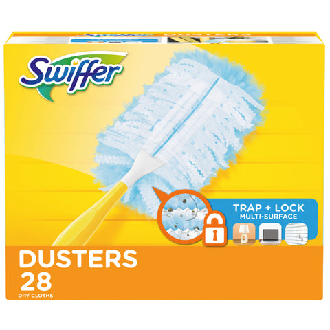 Image of Swiffer Dusters 28 Refills + 1 Handle
