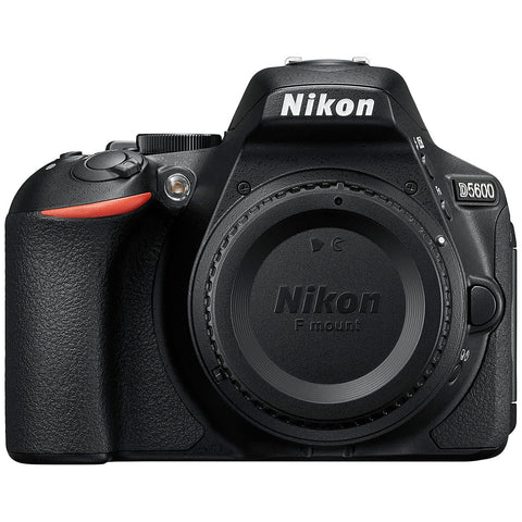 Image of Nikon D5600 TLK DSLR Twin VR Lens Camera, 18-55mm & 70-300mm Lens, 859501
